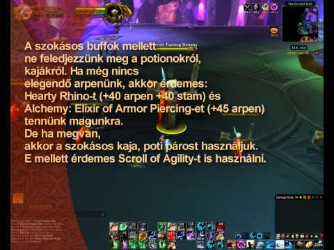 WOW – Feral Druid PVE DPS Guide 3.3.5 ::HUN:: (private server: WOD)