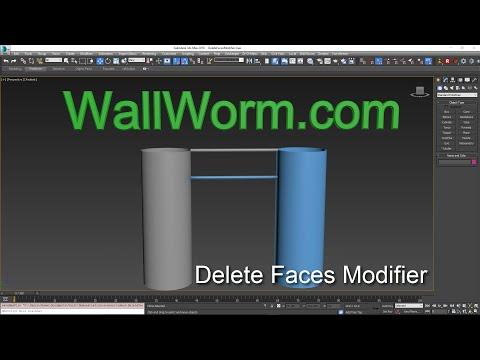 Delete Faces Modifier