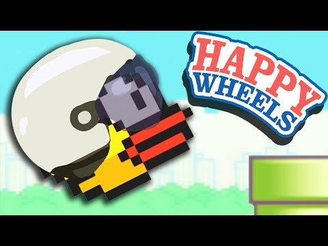 happy wheels - New DEPRESSING SONG - http://bit.ly/1czCY6P Free Netflix for Audience! http://netflix.com/audience Prev Happy Wheels - http://bit.ly/1hpQP7o What Should I Pl...