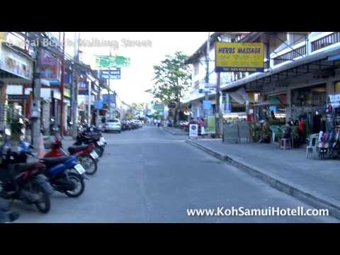 Lamai Beach Walking Street. 17.00 Koh Samui