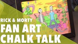 Rick & Morty Fan Art  //  420 Science Club by 420 Science Club