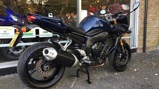 8. Yamaha FZ1 Blue 2007 Review & Start Up