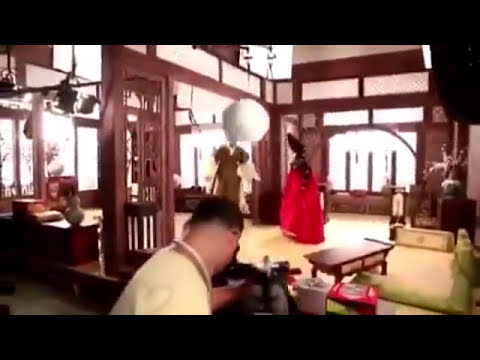 Crazy Blooper On A Movie Set
