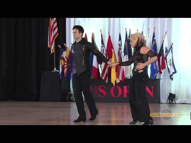 Jordan & Tatiana Mollman Us Open 2015