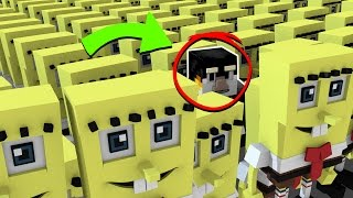 Minecraft | WHERE IS SPONGEBOB? Morph Hide and Seek! (Spongebob in Bikini Bottom)