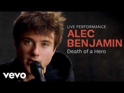 "Alec Benjamin - ""Death of a Hero"" Official Performance | Vevo - Thời lượng: 3 phút, 25 giây."