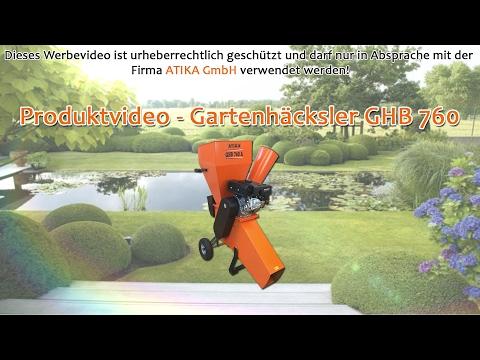 ATIKA Produktfilm - Gartenhäcksler GHB 760 A