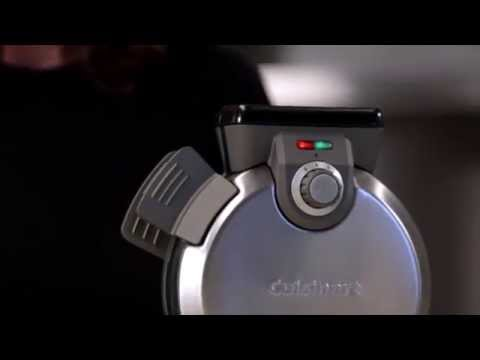 CUISINART VERTICAL WAFFLE MAKER (WAF-V100) DEMO VIDEO