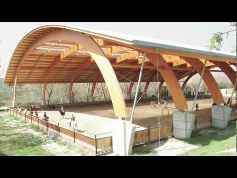 Montaje estructura madera laminada videos videos - Estructuras de madera laminada ...