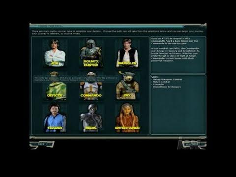 Star Wars Galaxies: Starter Kit PC Games Gameplay – Star