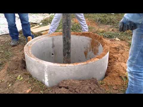 Как копать колодец вручную
