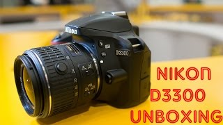 Nikon D3300 Unboxing&Sample Photos
