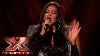 Monica Michael Sings for Survival - X Factor 2015