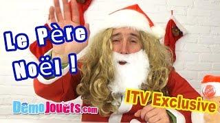 Video INterview exclusive du Père Noël pour la liste des cadeaux - Démo Jouets MP3, 3GP, MP4, WEBM, AVI, FLV September 2017