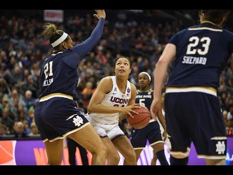 Women's Basketball NCAA Tournament Final Four Highlights (OT) - Notre Dame 91, UConn 89