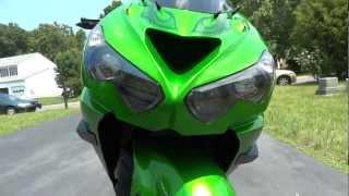 10. 2012 Kawasaki ZX14r with full Brocks Alien Head 2 system and PCV