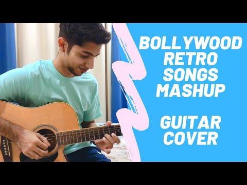 Bollywood Retro Mashup – Old Hindi Songs Medley – Acoustic Guitar Cover | AshesOnFire