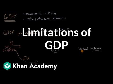 Limitations of GDP (video)   Khan Academy