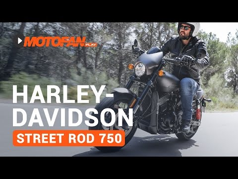 Vídeos de la Harley Davidson Street Rod 750