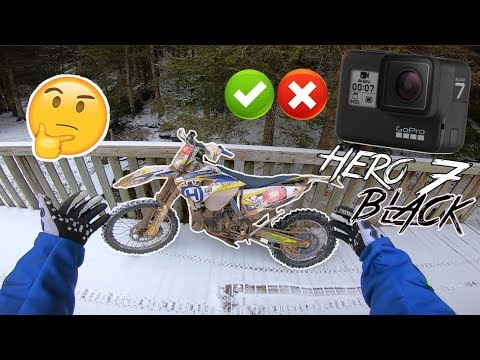 NEIGE ? TEST GOPRO HERO 7 BLACK HYPERSMOOTH !!