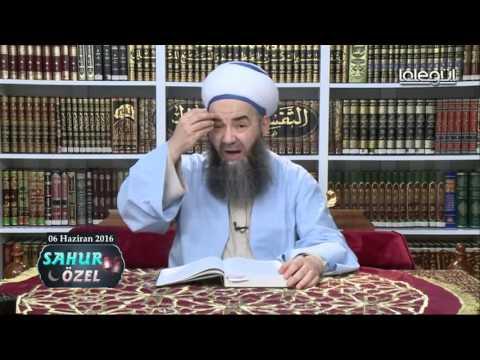 06 Haziran 2016 Tarihli Sahur Sohbeti - Cübbeli Ahmet Hocaefendi