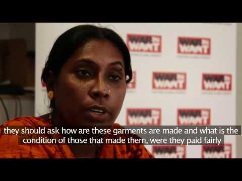 Arifa: The life of a sweatshop worker
