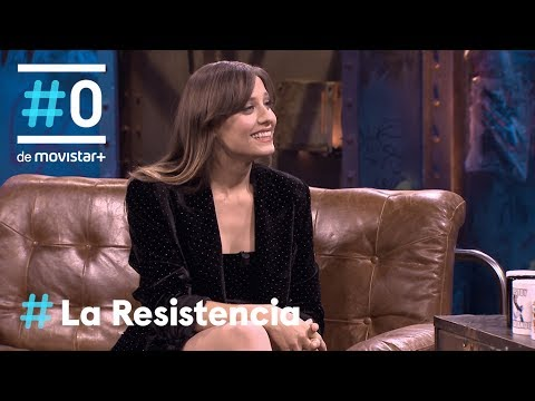 LA RESISTENCIA - Entrevista a Michelle Jenner  #LaResistencia 12.12.2018
