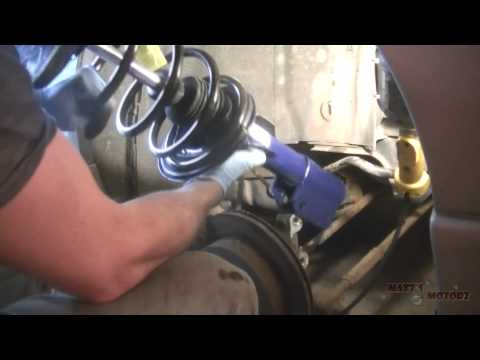 Replacing a Rear Strut Assembly [1999 Pontiac Grand Prix]