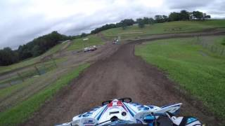 7. Chad Wienen takes his 2017 YFZ450R around the iconic Unadilla circuit in Central New York!