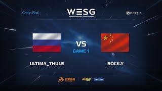 Ultima_Thule vs Rock.Y, Первая карта, WESG 2017 Grand Final