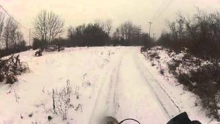 10. Husqvarna te 450 winter fall