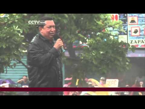 Venezuela's Hugo Chavez set for Sunday's Presidential Election