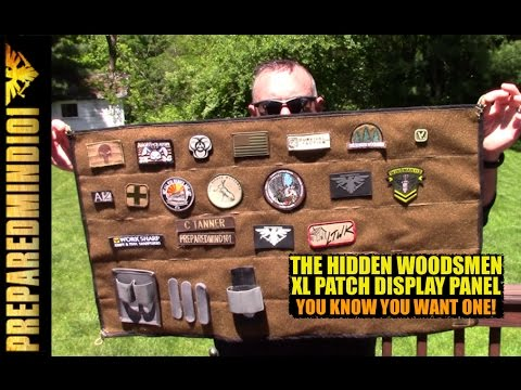 The Hidden Woodsmen Patch Panel: You Need This, You just Don't Know It Yet