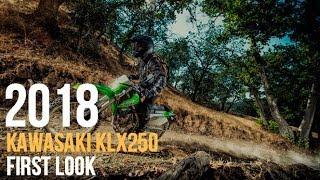 9. 2018 Kawasaki KLX250 First Look