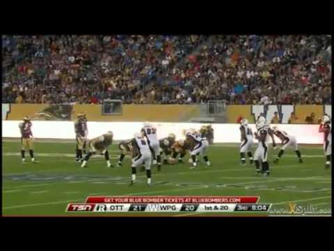 2014 CFL Week 2 Ottawa Redbacks at Winnipeg Blue Bombers