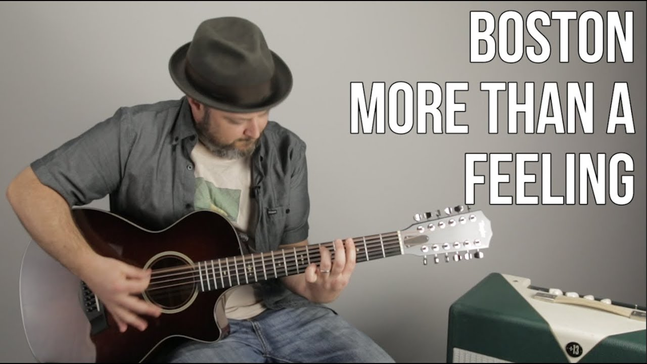 "Guitar Lesson for ""More Than a Feeling"" by Boston"