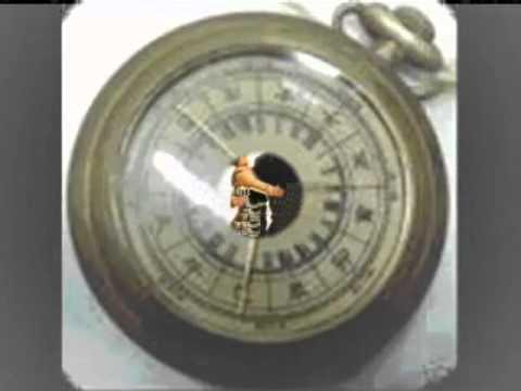 antiguo reloj de cobre dedicado para mi papa.wmv