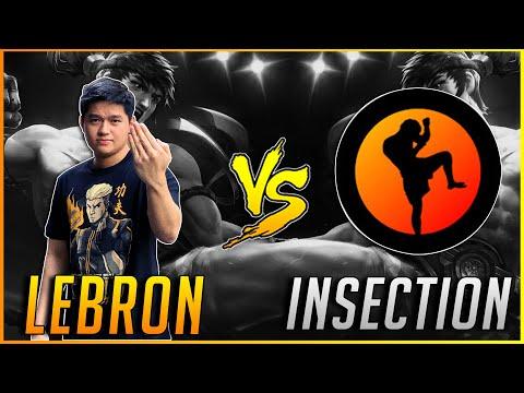 1V1 CHOU LEBRON VS INSECTION   MLBB