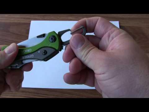 Відеоогляд мультитула Gerber Crucial Tool Green