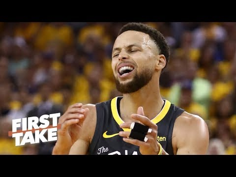 Steph Curry punched a wall, felt guilty about Klay, KD's injuries - Marc Spears | First Take