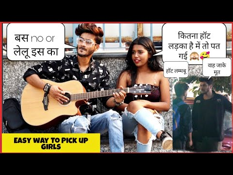 Easy Way To Get Girl's Number Prank    How to Pick Up Girls in Seconds Prank   SAHIL KHAN Production