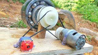Video How to make 100% free energy generator without battery with the help of bearings | home invention. MP3, 3GP, MP4, WEBM, AVI, FLV November 2018