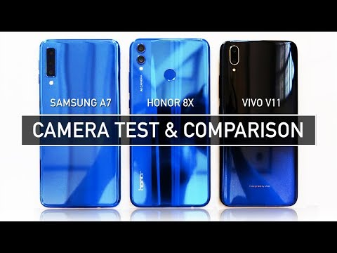Samsung A7 2018 / Honor 8X / Vivo V11 CAMERA TEST Sample Photo Video | Zeibiz