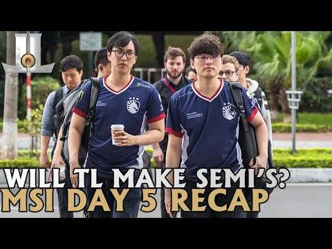 Liquid Tries to Make History | MSI 2019 Day 5 Highlights