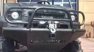 7. UVC Custom Kawasaki Turbo Diesel MULE Side x Side Utility Vehicle