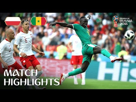 Senegal Keep Africa's Hopes Alive After 2-1 Victory v Poland