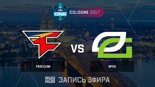 FaZe Clan vs OpTic - ESL One Cologne 2017 - de_train [ceh9 , yXo]