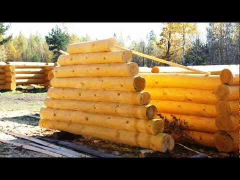 Срубы деревянных домов и бань из Мордовии