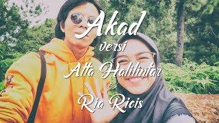 AKAD versi Ria Ricis & Atta Halilintar (Part1)  (Cover by Alffy Rev Official Pengamen Jogja)
