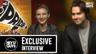 Faye Marsay & Ben Schnetzer Pride Exclusive Movie Interview
